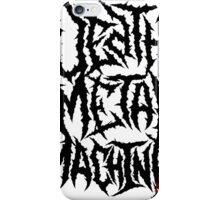 04 - Death Metal Machine iPhone Case/Skin
