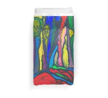 Abstract Forest Duvet Cover