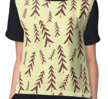 Fir tree Chiffon Top