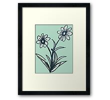 Posies for You Framed Print