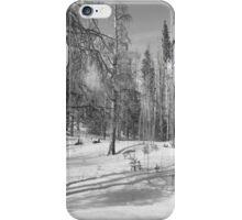Rainbow Lake - B&W iPhone Case/Skin