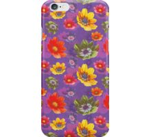 The Falling Flowers iPhone Case/Skin