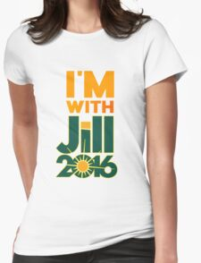 I'm With Jill Womens Fitted T-Shirt