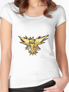 Zapdos! Women's Fitted Scoop T-Shirt