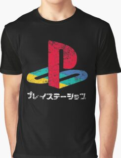 Japanese PlayStation Graphic T-Shirt