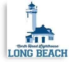 Long Beach - Washington State. Canvas Print