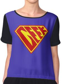 Geek Power Chiffon Top