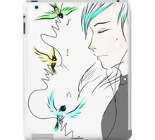 The voice of your soul iPad Case/Skin