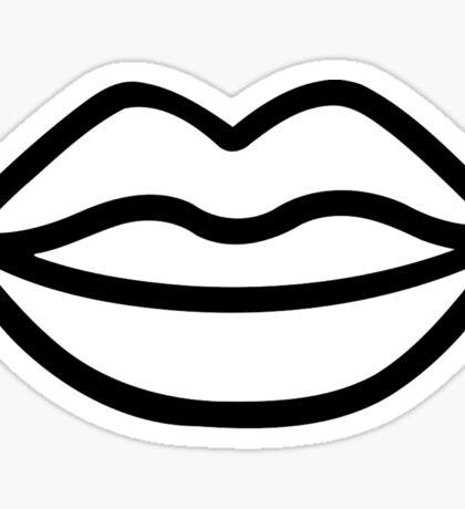 Kiss Lips Mouth Sticker