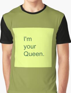 Lovely Queen Graphic T-Shirt