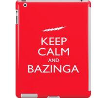 Keep Calm and Bazinga iPad Case/Skin