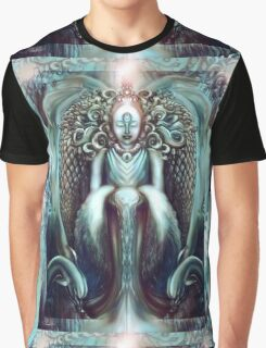 Flowing with the Angels Graphic T-Shirt