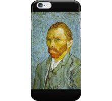 'Self Portrait' by Vincent Van Gogh (Reproduction) iPhone Case/Skin