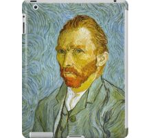 'Self Portrait' by Vincent Van Gogh (Reproduction) iPad Case/Skin