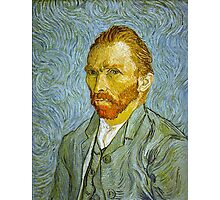 'Self Portrait' by Vincent Van Gogh (Reproduction) Photographic Print