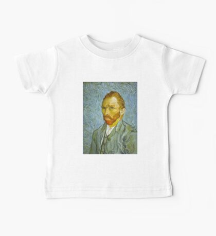 'Self Portrait' by Vincent Van Gogh (Reproduction) Baby Tee