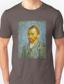 'Self Portrait' by Vincent Van Gogh (Reproduction) Unisex T-Shirt