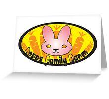 INspired by Zootopia - Hopps Family Farm Greeting Card