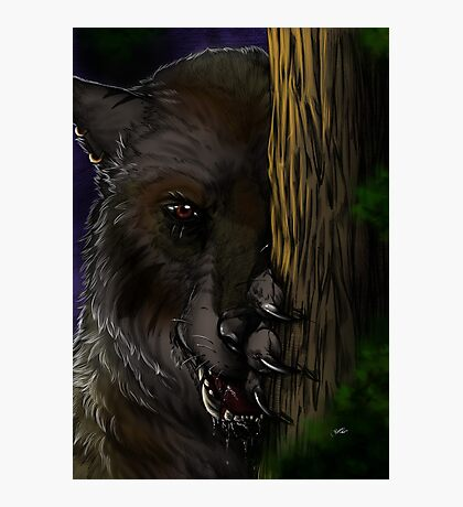 Lycanthrope - Waiting Photographic Print