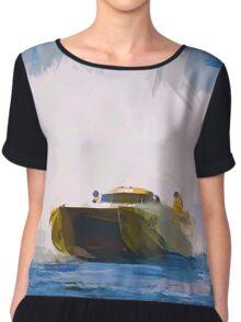 Speed Boat Chiffon Top