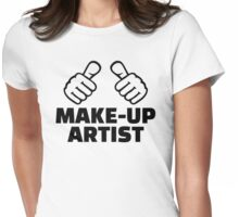 Make-up artist Womens Fitted T-Shirt