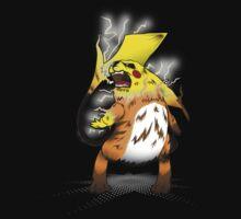 Fierce Evolution: Pikachu by Fu-Man-Chu