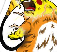 Fierce Evolution: Pikachu Sticker