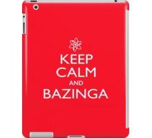Keep Calm and Bazinga (with atom) iPad Case/Skin
