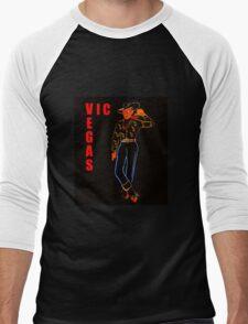 Vegas Vic work A Men's Baseball ¾ T-Shirt