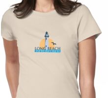 Long Beach - Washington State. Womens Fitted T-Shirt