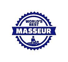 World's best masseur Photographic Print