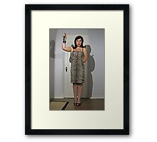 Horror Business Framed Print