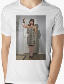 Horror Business Mens V-Neck T-Shirt