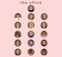 The Office Minimalist Cast One Piece - Long Sleeve