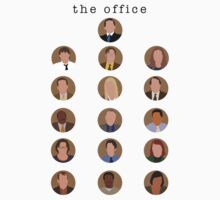 The Office Minimalist Cast Kids Clothes