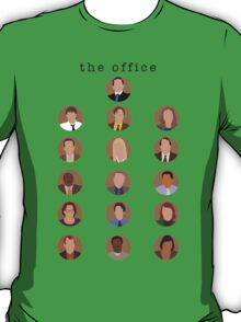 The Office Minimalist Cast T-Shirt
