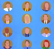The Office Minimalist Cast by Arihiro