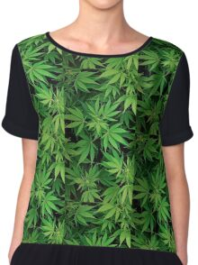 The Ganja Club : Ganja Field Design, Apparel, Decor & Accessories. Chiffon Top