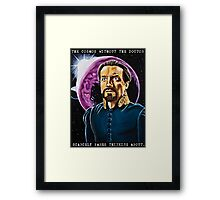 The Cosmos Without the Doctor Framed Print