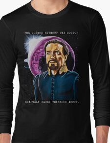 The Cosmos Without the Doctor Long Sleeve T-Shirt