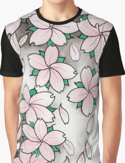 """""""Blossoms"""" Pink Graphic T-Shirt"""