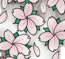 """""""Blossoms"""" Pink Sticker"""
