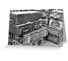ammo boxes 2 Greeting Card