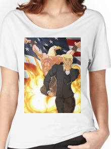 Trump's Bizarre Election - Jojo's Bizarre Adventure Trump Women's Relaxed Fit T-Shirt