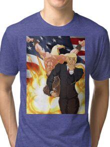 Trump's Bizarre Election - Jojo's Bizarre Adventure Trump Tri-blend T-Shirt
