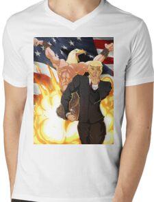 Trump's Bizarre Election - Jojo's Bizarre Adventure Trump Mens V-Neck T-Shirt