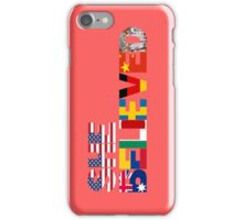 USWNT WWC 2015 - SHE BELIEVED iPhone Case/Skin
