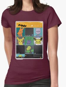 Pokemon Grindr Womens Fitted T-Shirt