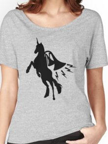 Unicorn Jetpack  Women's Relaxed Fit T-Shirt