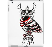 """Bold-School"" The Watcher. iPad Case/Skin"